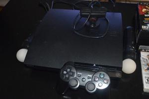 Vendo PLAY STATION 3 + Play Move + Juegos PS3