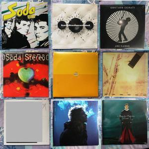Vinilo Soda Stereo Cerati Signos, Dynamo, Soda Stereo -