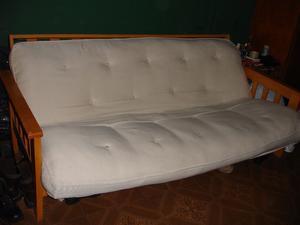 futon de 2 plazas