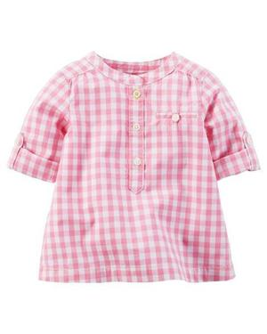 Camisa para nena Carter's NUEVA! (talles 12 y 24 meses)