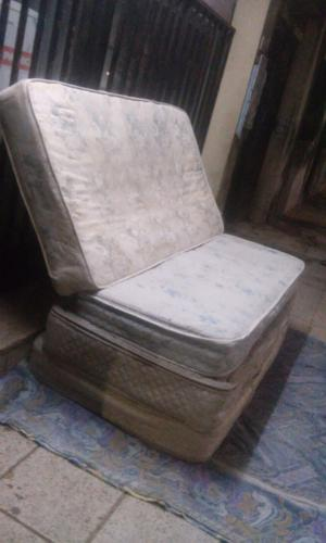 Colchón de Resortes 1 plaza y media Listo para usar