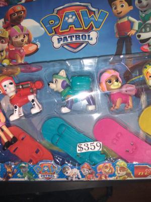 Set Patrulla Canina $ 359 juguetería