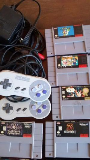 Super Nintendo Con 12 Juegos. La Plata