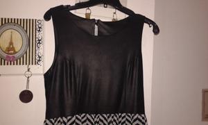 Vestido negro Núcleo. Poco uso