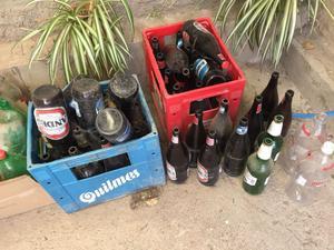 Botellas retornables gaseosa y cerveza