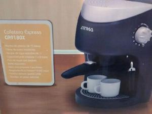 Cafetera expreso atma nueva.