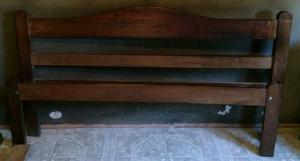 Vendo Cama De Algarrobo En Muebles Lan S Posot Class