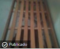 Cama de una plaza con colchón de alta densidad