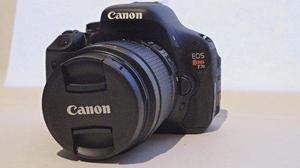 Canon Rebel T3i 600d Con Dos Lentes Y Accesorios.