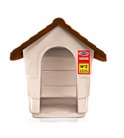 Casa Cucha Para Perro Exteriores Plástica Chica Mascotas N1