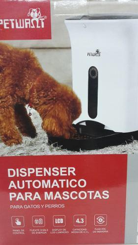 Comedero Automático Petwant Para Mascotas