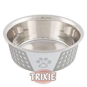 Comedero Inox Silicona Trixie 1,4 Ltrs + Envío Sin Cargo