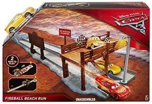 Disney Cars 3 Pista Cruz Ramirez Fireball Beach Orig Mattel