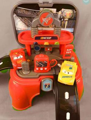 Estación De Servicio Cars 3, Banquito Didáctico Zippy Toys