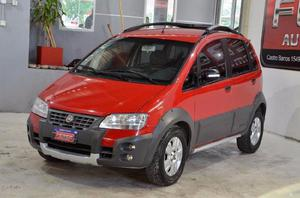 Fiat idea adventure 1.8 8v nafta 2010 color rojo