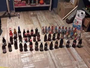 Lote De Botellas De Coca Llenas