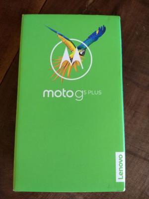 Moto G 5 Plus - Nuevo - Libre de Fábrica