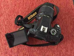 Nikon 5100 Con Lente 18 -55 Excelente Estado