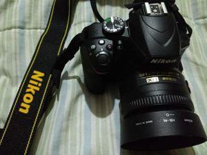 Nikon D3400 Impecable. Poco Uso Con Lente 35mm Y 18 55