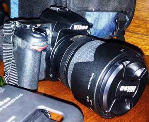 Nikon D7000 Con Lente Nikon 18-105 Excelente Estado,