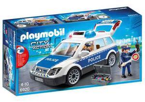 Playmobil  City Action Auto Policia Luz Y Sonido Bigshop