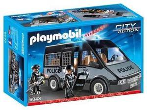 Playmobil City Action Furgon Camioneta De Policia Art