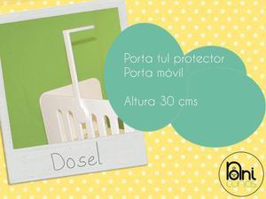 Porta Tul Porta Movil Dosel 30 Cms, Accesorio Noni Cunas