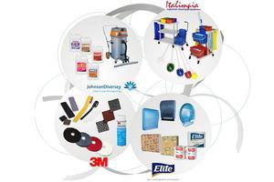 Productos de limpieza para higiene institucional e