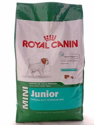 Royal Canin Mini Junior 7.5 Kg Chachorros Envíos Gratis