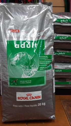 Royal Canin Performance Adulto X 20 Kg. Sabuesos Vet
