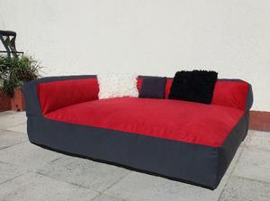 Sofa Cama Para Mascotas Chicas Funda Lavable 100 X 65 X 20