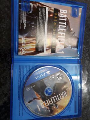 Vendo 1 videojuego battlefield 1 ps4