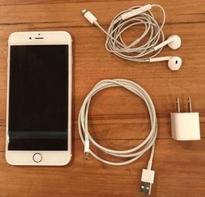 Vendo celular iPhone 6S Plus de 64 GB impecable 1 mes de uso
