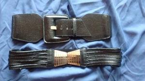 Vendo dos Cinturones color negro