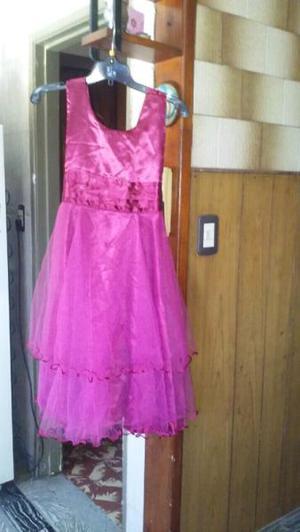 Vestido de nena talle 14 poco uso