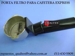 brazo - porta filtro - de cafetera express