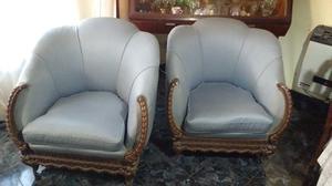 Juego de sillones antiguos posot class for Sillones clasicos antiguos