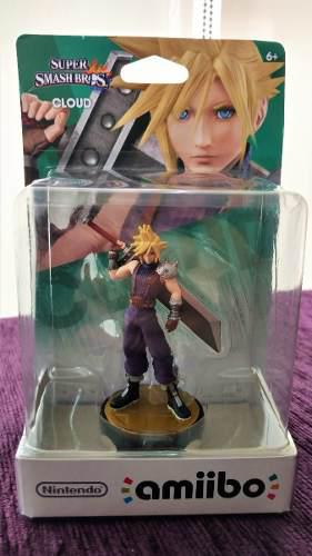 Amiibo Cloud Final Fantasy Super Smash Bros Wiiu/3ds Sellado