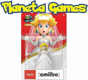Amiibo Peach Edicion Super Mario Odyssey Blister Cerrado
