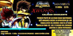 CABALLEROS DEL ZODIACO – SAGA LAS 12 CASAS COMPLETA – 11
