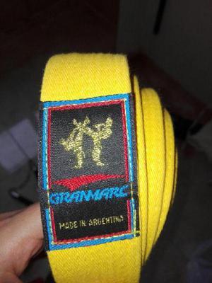 Cinturón Amarillo de Karate/Taekwondo