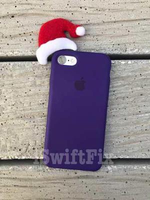 Funda Apple Original Iphone 7 8 Todos Los Colores Retail Box