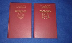 Libros de botánica y zoología
