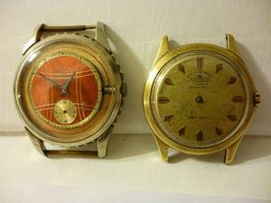 Lote De 2 Relojes Agon 15j Y Grand Prix Cymaster Raro A Rev