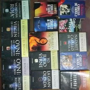 Lote de 15 Libros de J. J. Benitez