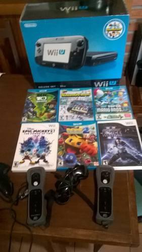 Nintendo Wii U Usada Como Nueva!!!+extras Leer Oportunidad!
