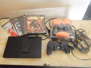 PS2, Play 2, Playstation 2, con 2 joysticks, impecable