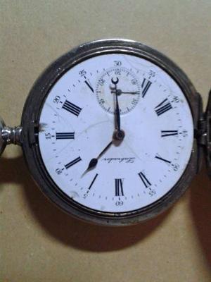 Reloj Antiguo De Plata Labrador Gran Prix Paris