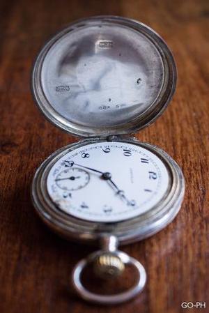 Reloj De Bolsillo De Plata