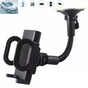Soporte Porta Celular Y Gps Para Auto Con Ventosa